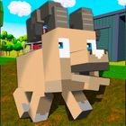 Blocky Sheep Full icon