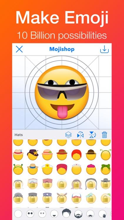 Mojishop - Emoji Maker & GIF, Text Moji Designer by Deming Jin