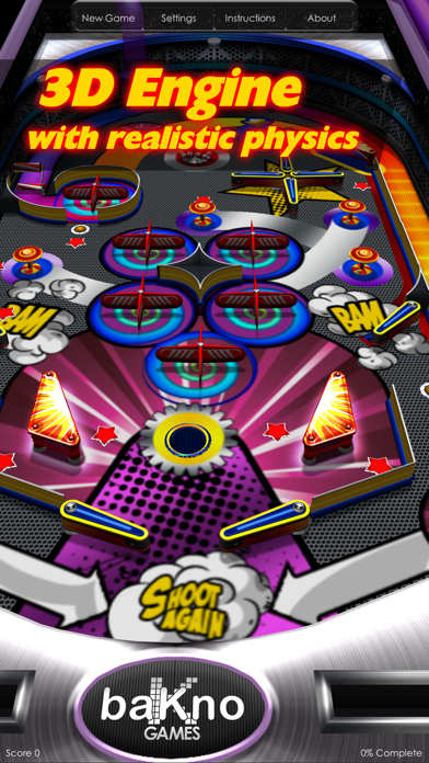Screenshot from Pinball.