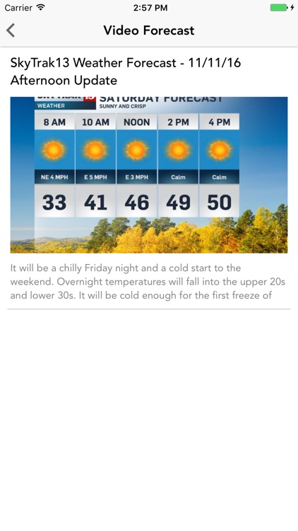 WTHR Live Doppler 13 Weather screenshot-3