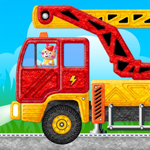 Kids Trucks in Town - Adventure Games for Toddlers icon