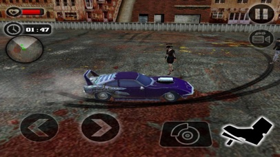 Crazy Car Crush Zombie screenshot 2