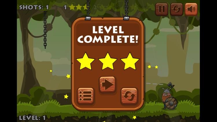 原始人石斧打靶-好玩的动作小游戏 screenshot-3
