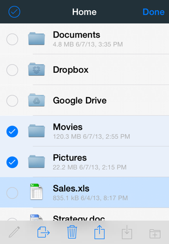 File Storage – The only file manager you need - náhled
