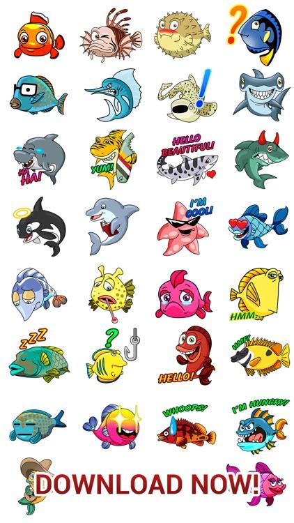 Seamoji - Fish Emojis screenshot-4