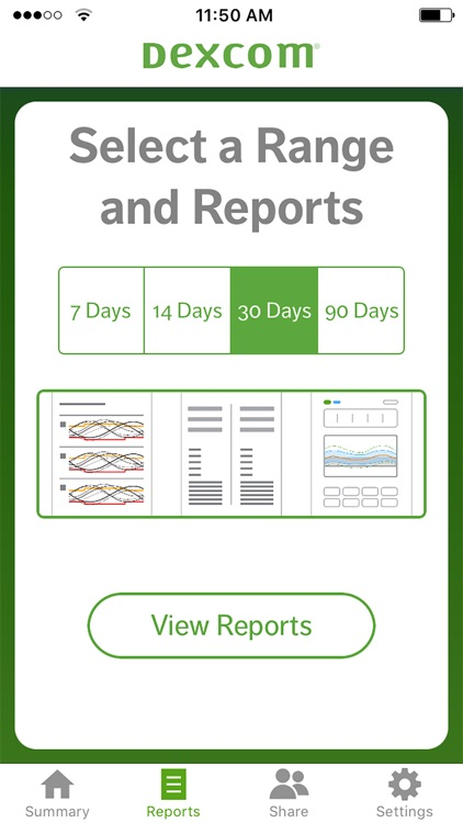 Dexcom CLARITY Reports screenshot-2