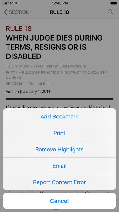 Texas Rules of Civil Procedure (LawStack's TX Law) screenshot three
