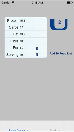 food calculator pro on the app store