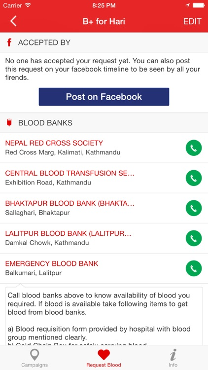 Blood Donor+ screenshot-3