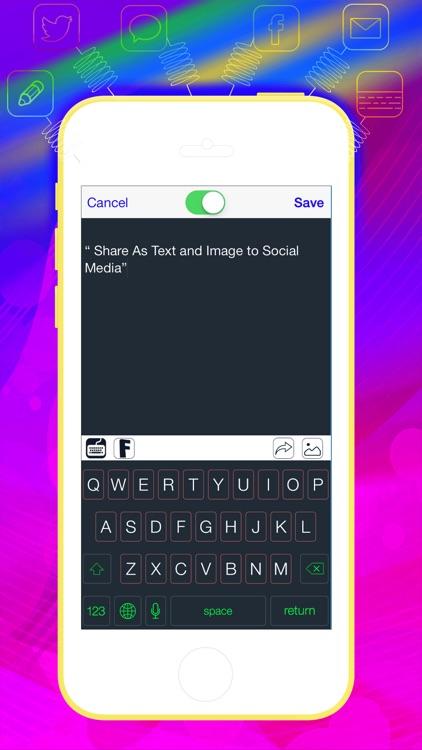 Pimp My Keyboard To Swipe & Type & Cool Fonts screenshot-3