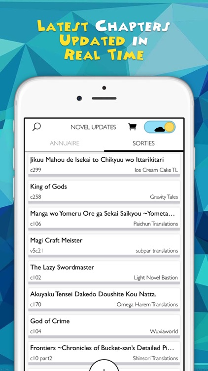 Novel Updates, The Best Reader for Light Novels screenshot-2
