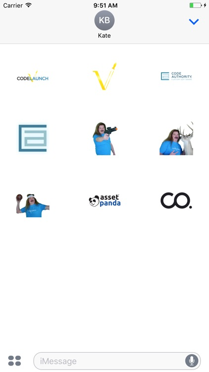 CodeLaunch 2017 Stickers