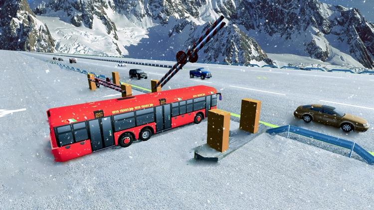 Coach Bus Simulator Driving: Bus Driver Simulator screenshot-4