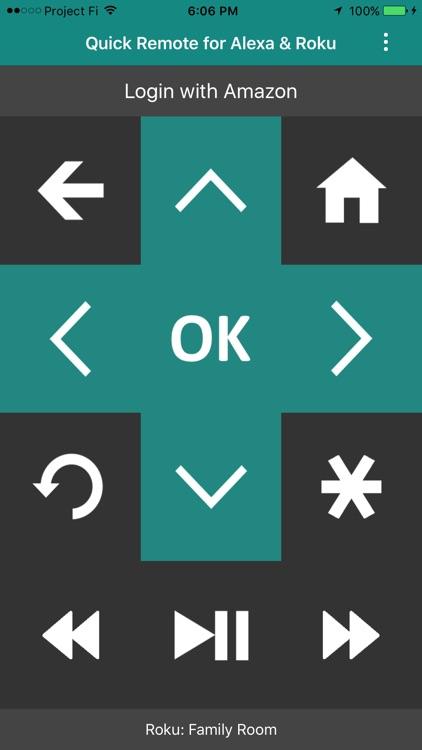 Quick Remote for Alexa & Roku