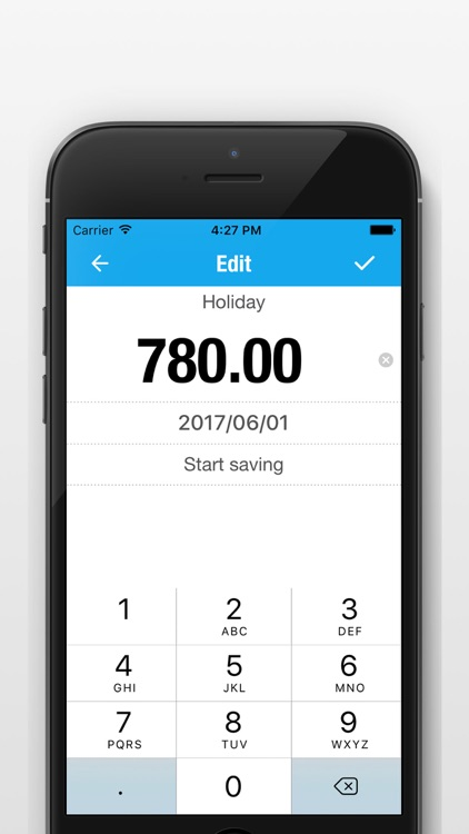 Saving Money Manager - Daily Savings Goals Tracker screenshot-3