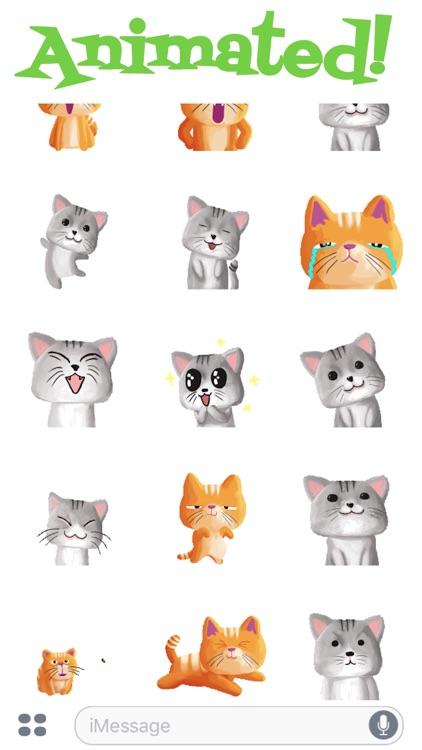 Cute Baby Cat Animated screenshot-3