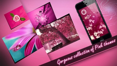 Screenshot #7 for Wallpapers - Pink Edition