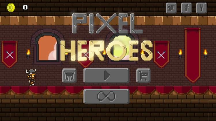 Pixel Heroes - Endless Arcade Runner screenshot-0