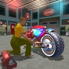 Motorrad Mechaniker Simulator Auto Reparatur Gesch icon