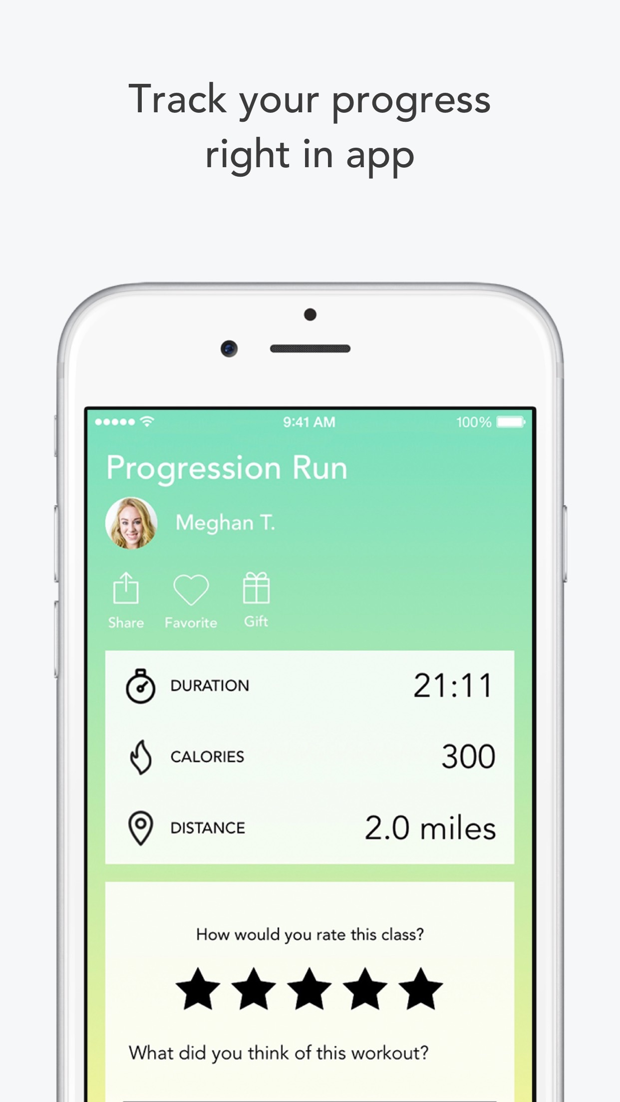 Aaptiv: #1 Audio Fitness App Screenshot