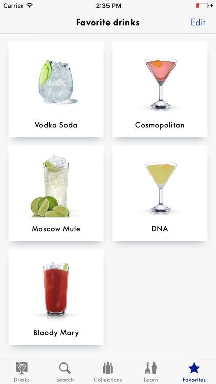 Drinkspiration By Absolut screenshot-4