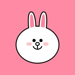 Cheerful CONY emoji - LINE FRIENDS