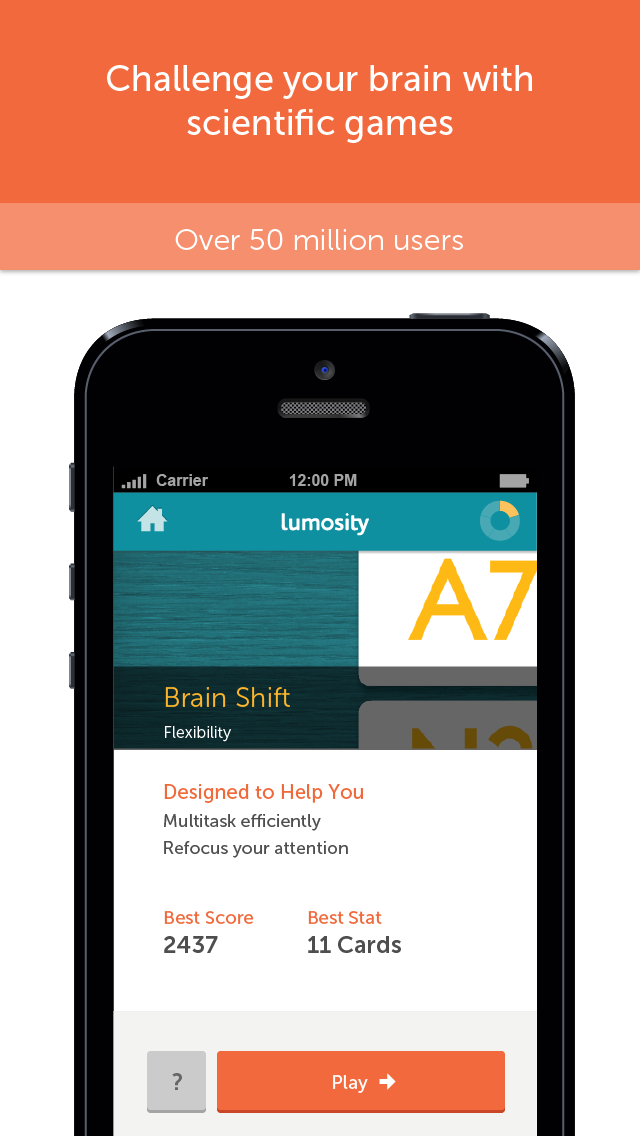Screenshot for Lumosity – Latihan Otak in Indonesia App Store