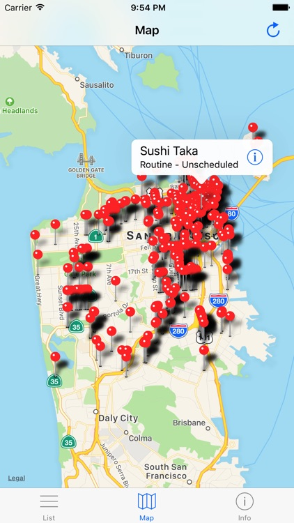 San Francisco Food Inspections - California Health