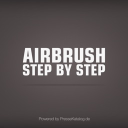 Airbrush Step by Step EN - art magazine with hints
