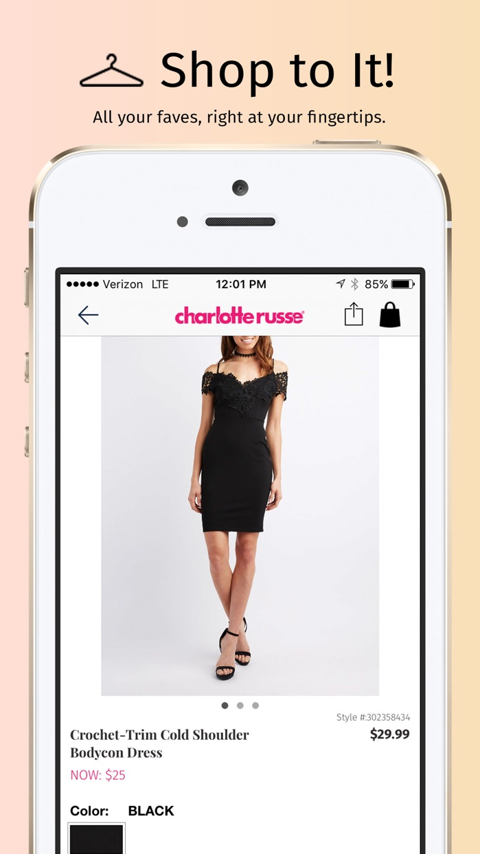 Charlotte Russe Screenshot