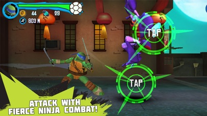 Teenage Mutant Ninja Turtles: Rooftop Run iPhone