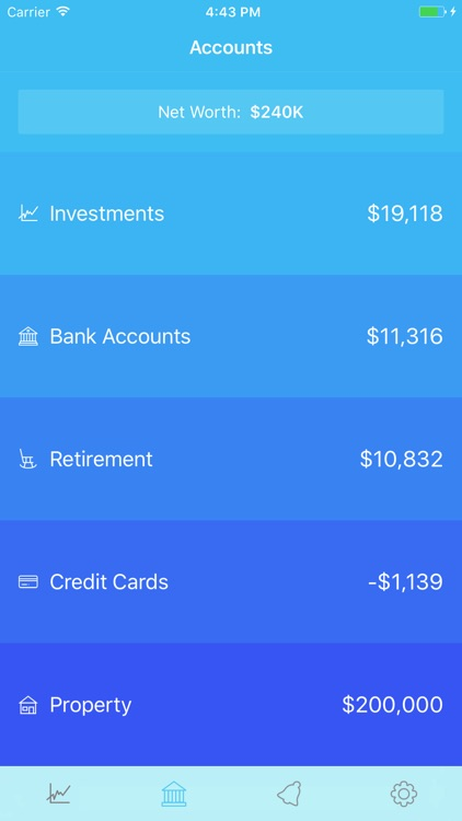 Openfolio - Track Your Finances and Net Worth screenshot-0