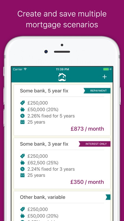 Monsieur Mortgage - Your Mortgage Calculator