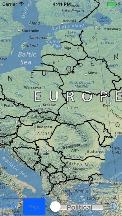 World Map Explorerのおすすめ画像2