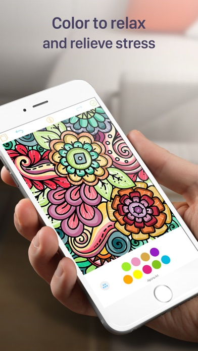 Coloring Book For Adults- Stress Free Coloring App - by Ahmad Rakib ...