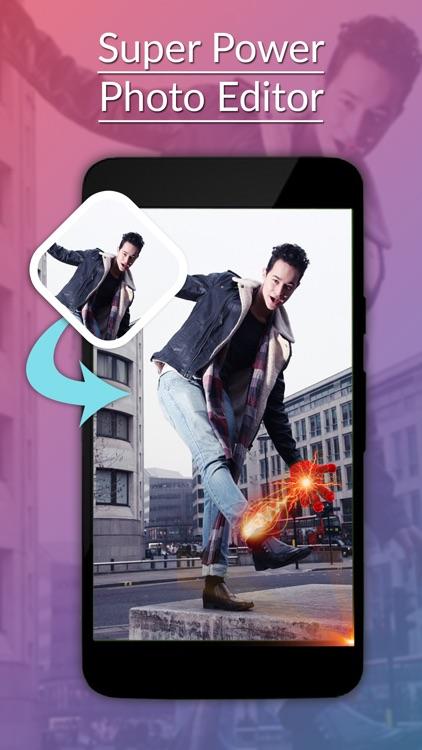 Super Power Photo Editor -Super Power Sticker screenshot-3