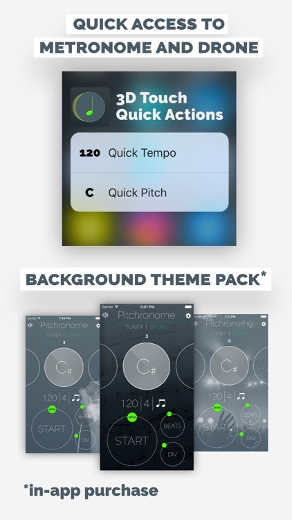 Pitchronome - Tuner, Metronome, Drone screenshot-3