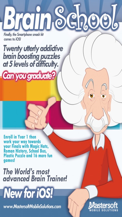 Brain School ™ Word, Puzzle & Logic Games Training