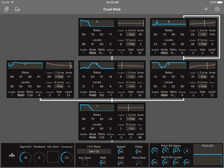 Patch Touch: for Yamaha DX/TX