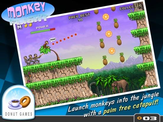Monkey Flight на iPad