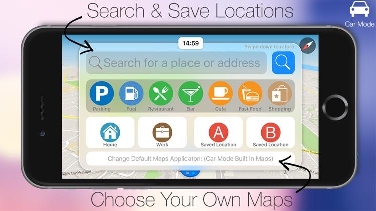 Car Mode - Complete Car Dashboard System & Sat Nav