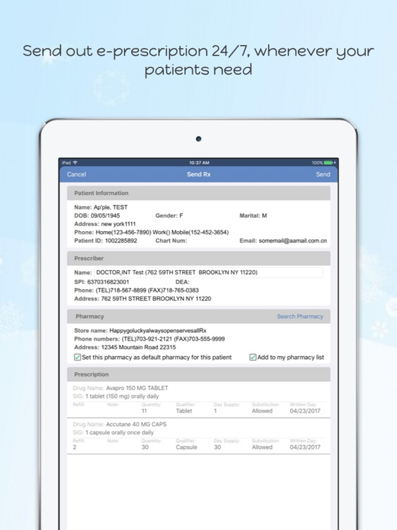 iClinic Office screenshot-3
