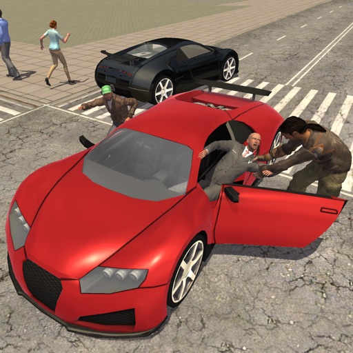 Real Gangster Crime Simulator 3D: Escape City Cops iOS App