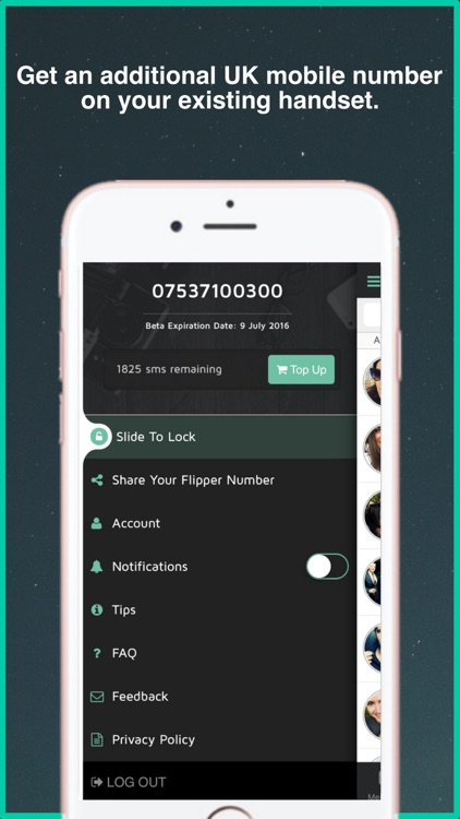 Flipper - Additional UK mobile numbers