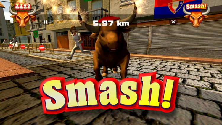 Pamplona Smash: Infinite Bull Runner screenshot-3