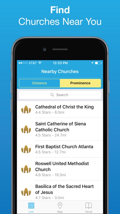 Church Finder: Locate Nearby Churches & Cathedrals screenshot-0