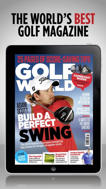 Golf World Magazine: Instruction & interviews