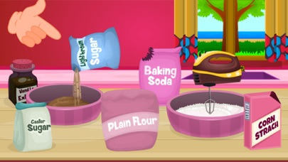 Delicious Caramel Cookies-Food Making Game screenshot three