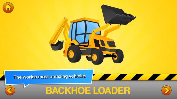 Trucks Builder Puzzles Games - Little Boys & Girls