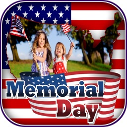 Memorial Day Photo Frame.s - eCards Poster Maker